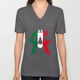 Canelo Men's Alvarez Boxing Championship Mexico T-Shirts Unisex V-Neck