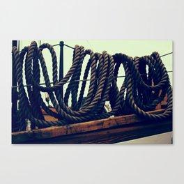 Tied Canvas Print