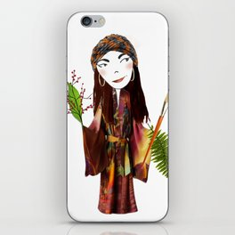 Our Lady of the Prairie iPhone Skin