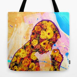 Innerbloom - Flower Person Collage Tote Bag