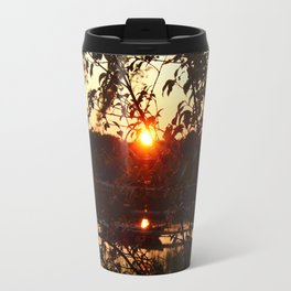 Sunset Settling Travel Mug