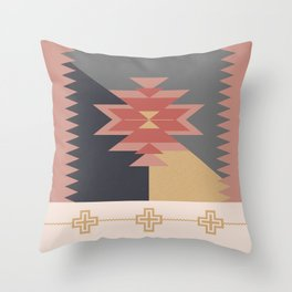 DREAM CATCHERS // Red valley Throw Pillow