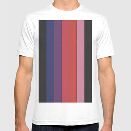 Five Colors and Black T-shirt