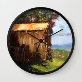 A Stable Home Wall Clock