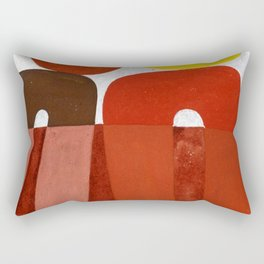 Sophie Taeuber Arp Composition with Arc Patterns Rectangular Pillow