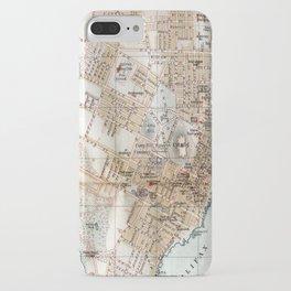 Vintage Map of Halifax Nova Scotia (1890) iPhone Case