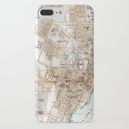 Vintage Map of Halifax Nova Scotia (1890) iPhone Case