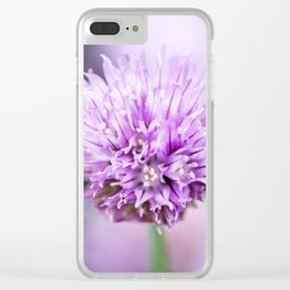Chive Clear iPhone Case