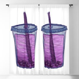 Cup of Happy 2 Blackout Curtain