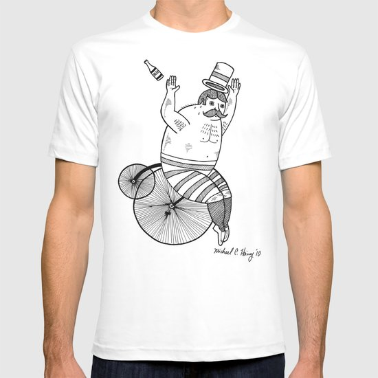 On wild and adventurous Penny-Farthling riders  T-shirt