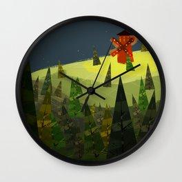 Red Mill Wall Clock