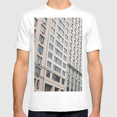 Shapes of New York City Mens Fitted Tee MEDIUM White