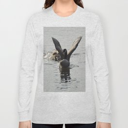 An Agressive Goose Long Sleeve T-shirt