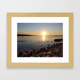 First Landing State Park Framed Art Print