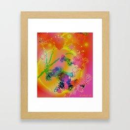Yellow Moon Framed Art Print