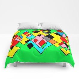 Green mult Comforters