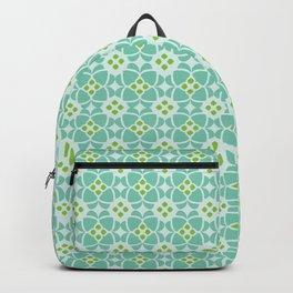 Mediterranean sky blue tiles Backpack