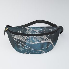 Adventure Is Out There Forest Lake Reflection - Nature Photography Fanny Pack