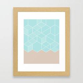 SORBETEMINT Framed Art Print