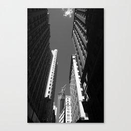New York City Downtown 2013 Canvas Print