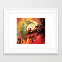 health Framed Art Prints featuring Good Health by Peter Richardson