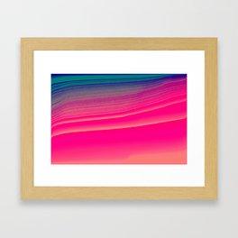 pink candy Framed Art Print