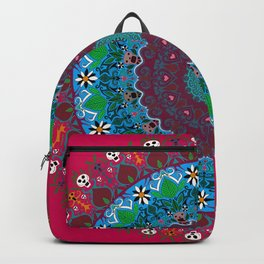 Trance Dream - Dia De Los Muertos (Deep Pink Edition) Backpack