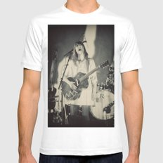 Feist White MEDIUM Mens Fitted Tee