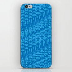 Video Game Controllers - Blue iPhone & iPod Skin