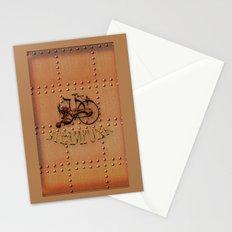 Steampunk bike Stationery Cards