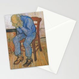 Vincent van Gogh - Sorrowing Old Man (At Eternity's Gate) Stationery Cards