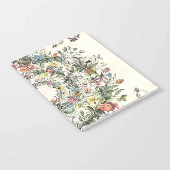 Circle of Life Cream Notebook