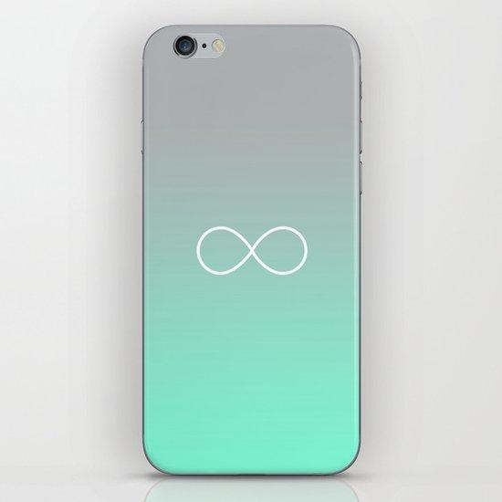 Tiffany Fade Infinity Symbol iPhone & iPod Skin