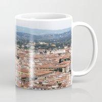florence Mugs featuring Florence by Anya Kubilus