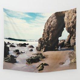 Beach Blues Wall Tapestry