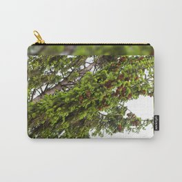 Large spruce fresh shoots Carry-All Pouch