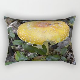 Mushroom Bitten Rectangular Pillow