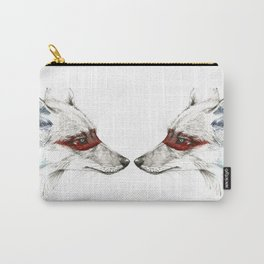 Twin Coyotes Carry-All Pouch