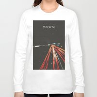 infinite Long Sleeve T-shirts featuring infinite by MrPJ6