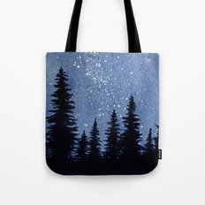 Starry Pines Tote Bag
