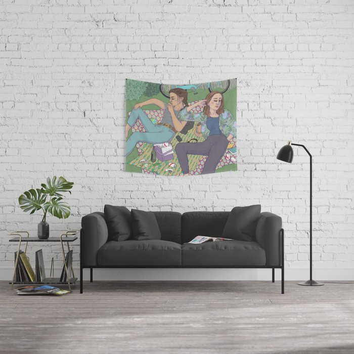 park days Wall Tapestry