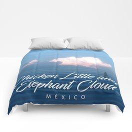 Chicken Elephant Cloud Comforters