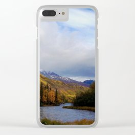 Matanuska River Alaska Clear iPhone Case
