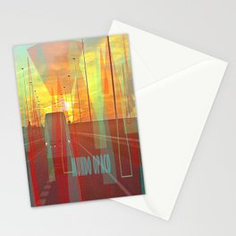 Opaque world Stationery Cards