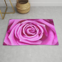 Pale Pink Rose Rug