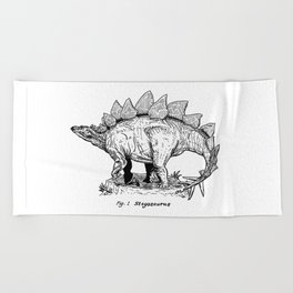 Figure One: Stegosaurus Beach Towel