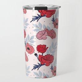 Floral crib sheet Travel Mug