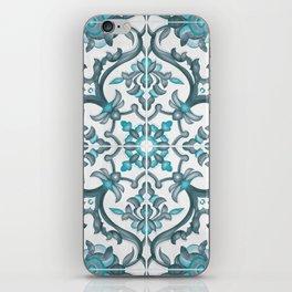 European tiles iPhone Skin