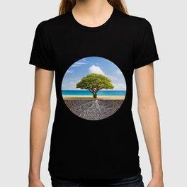 Sea Beach Tree of Life T-shirt