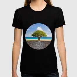 Sea Beach Tree of Life T-shirt